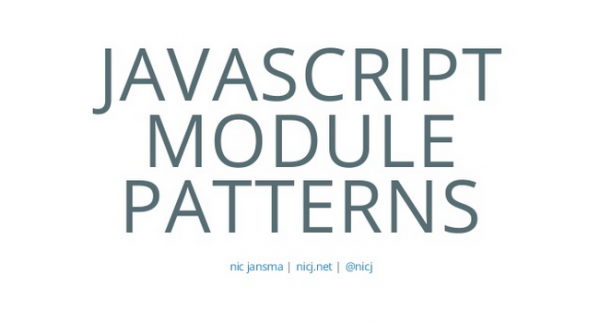 javascript-module-patterns